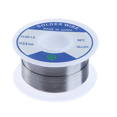 Lead-Free Silver Solder Wire 3% Silver 0.8mm Speaker DIY Material for Electronic