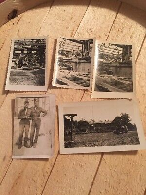 Ww2 Lot Of Soldier Photos