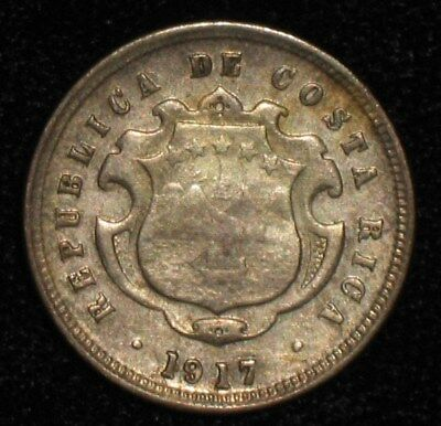 1917, 10 Centavos from Costa Rica.  No Reserve!