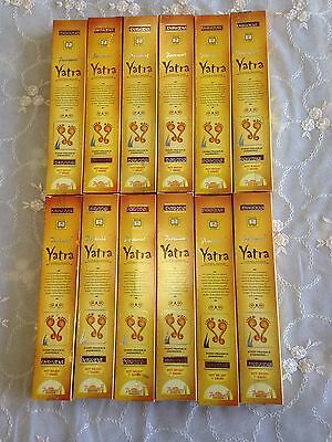 Aussie Stock 12 of Yatra Incense Sticks 17G 2017 Fresh Sale