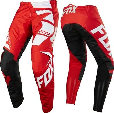 FOX RACING 180 Sayak Red MX Offroad Pants  *NEW* Motorbike MOTO