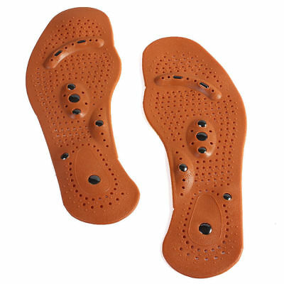 Health Foot Magnetic Therapy Massage Insoles Shoe Pads More size For Mens/Womens