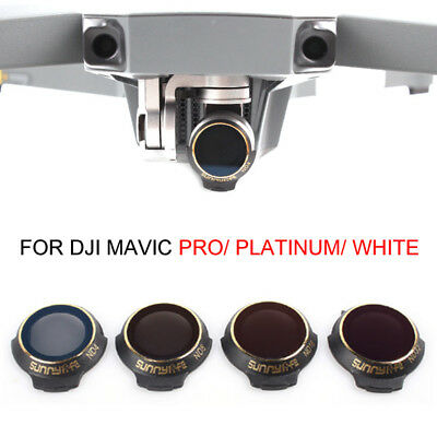 For DJI MAVIC PRO/PLATINUM Drone Gimbal Camera Lens Filter HD ND4/8/16/32 CPL UV
