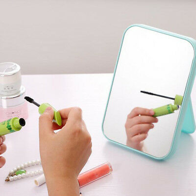 Simple Fashion Square Makeup Mirror Cosmetic Mirror with Adjustable Kickstand