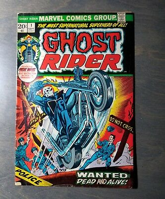 Ghost Rider #1 (Marvel Comics 1973) Great book!
