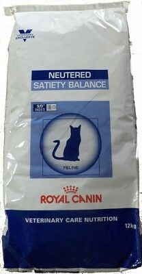 12kg Royal Canin Neutered Satiety Balance Veterinary Care Nutrition Katzenfutter