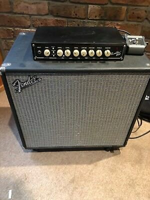 Fender Rumble Bass Head and Cabinet