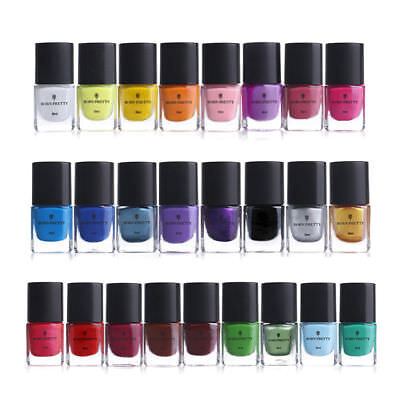 6ml Nail Art Stamping Polish  Plate Image Stamp Varnish DIY BORN PRETTY