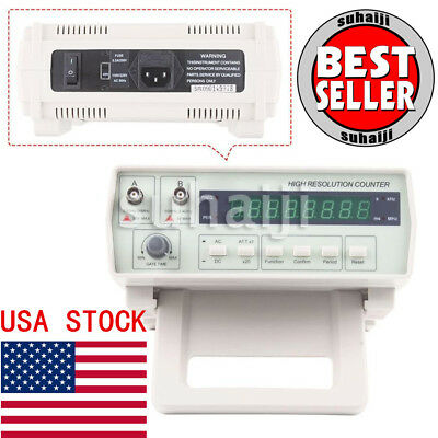 VC3165 Radio Frequency Counter RF Meter 0.01Hz~2.4GHz Professional Tester USA