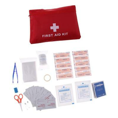 First Aid Energency Kit Car Home Travel Outdoor Sports Medical Survival Bag