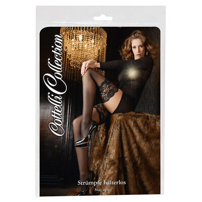 Hold-up Stockings Cottelli Collection calze autoreggenti e balza larga in pizzo