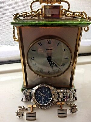 Carriage clock and watches