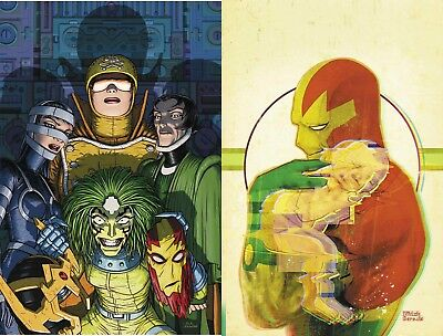 MISTER MIRACLE #7 A + B Mitch Gerads Variant Set Tom King DC Comics 2018  NM+