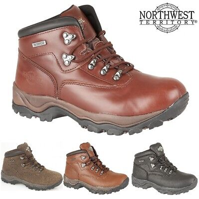 9535d96847a NEW MENS NORTHWEST Territory Inuvik Leather Hiking Boots Waterproof ...