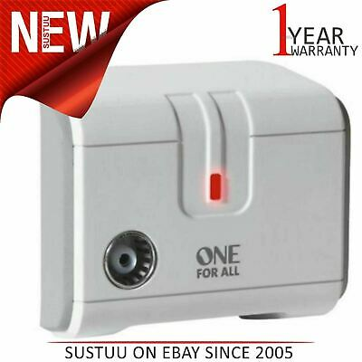 One for All SV9601│TV or Radio Signal Booster Amplifier│One Way Digital Freeview