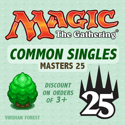 MTG - Masters 25 - Common Singles - *Discount on multiples*