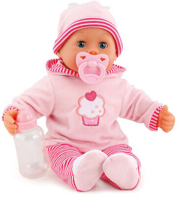 Bayer Design Funktionspuppe First Words Baby Cookie (Rosa-Pink)