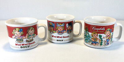 Vintage Campbell's 14 oz. Homestyle Soup Mugs Cups 1989 Westwood International