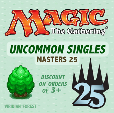 MTG - Masters 25 - Uncommon Singles - *Discount on multiples*