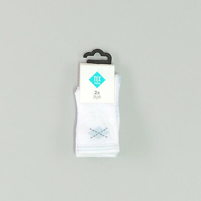 Pack dos calcetines color Blanco marca Tex 12 Meses  177602