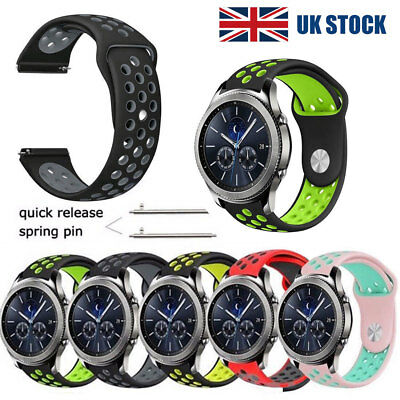 Silicone Wrist Band Watch Strap For Samsung Gear S2 S3 Classic Frontier 21 22mm