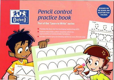 Oxford Learn to Write Handwriting Practice Book Reception Nursery year NEW