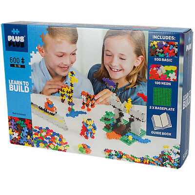 Plus-Plus Mini Basic: Learn to Build - 600 Bausteine