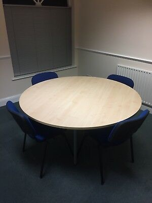 Office Meeting Table and 4 Chairs
