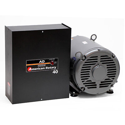 American Rotary AD40 | 40HP 240V Wall Mount AD Series Rotary Phase Converter