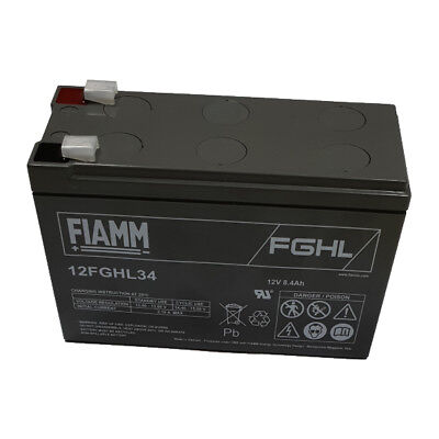 FIAMM 12FGHL34 Batteria ermetica al piombo High Rate Long Life FGHL 12V 8,4 Ah