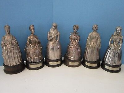 Gorham Silverplated Bronze Bells Women Who Changed History Complete #d Set of 6