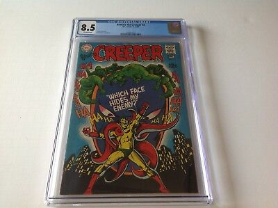 Beware The Creeper 4 Cgc 8.5 Steve Ditko Cool Cover Dc Comics