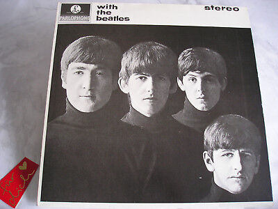 The Beatles - With The Beatles - Stereo LP Vinyl