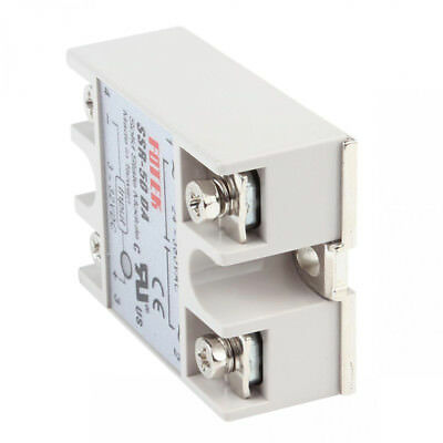 Mm New Relay Solid 50a/250v With Cover 3-32vdc State Output Ssr-50da 24-380vac
