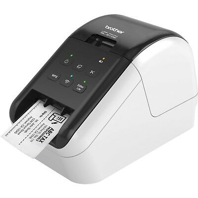 NEW Brother QL-810W Wireless Label Printer Direct Thermal Monochrome FREE Ship