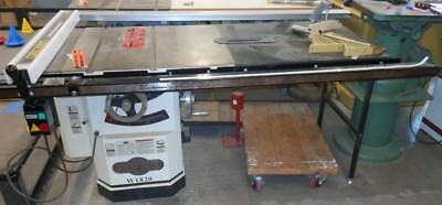 SHOP FOX Table Saw #W1820 - RTAuctions**