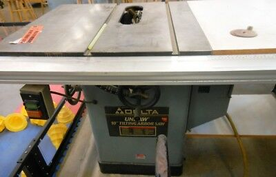 "DELTA Unisaw 10"" Tilting Arbor Table Saw - RTAuctions**"