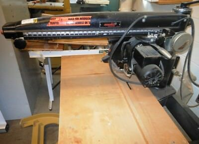 THE ORIGINAL Radial Arm Saw Model 3546 - RTAuctions**