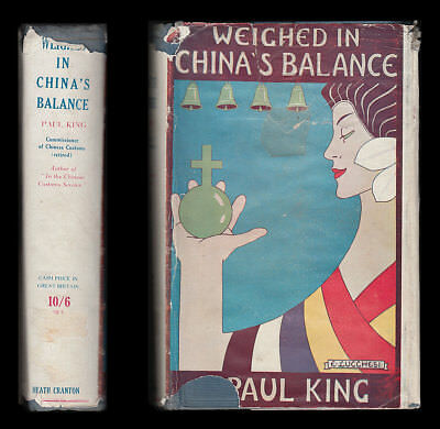 1928 WEIGHED IN CHINA'S BALANCE Chinese Religion PHILOSOPHY Treaty Ports HISTORY