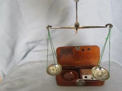 Antique French Jewerly Scale In Box