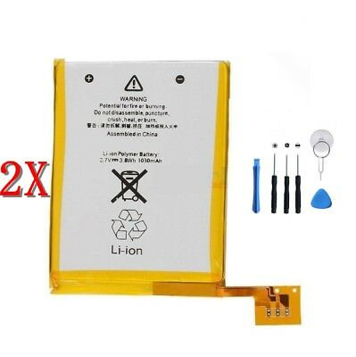 2 X Internal Replacement Battery for iPod Touch 5 5th Gen 5 A1421 + Free Tools