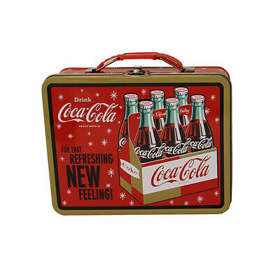 Coca-Cola Large Carry All Tin (CC001) / Lunch Box - Brand New