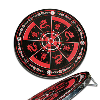 Throwing Knife Target Board (37cm Diameter) - Brand New