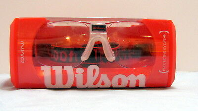 WILSON PROTECTIVE EYEWEAR In Case - Omni WRR3000002 - NEVER WORN ... 58e188362128