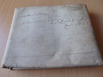 1767 Vellum Indenture Parchment With Wax Seal Edward Salisbury Peter Woodhouse