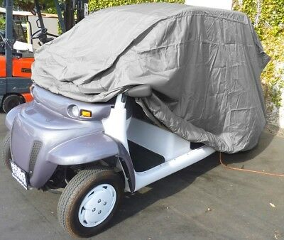 "Polaris GEM Golf Cart Cover | Fits GEM e4, GEM e825, Ford Th!nk (138""L)"