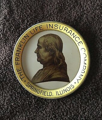 Old Franklin Insurance Tip Tray  !!