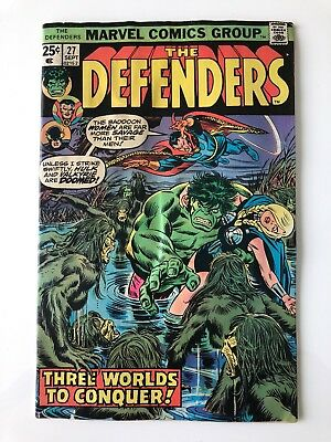 The Defenders #27 -1st appearance of Starhawk!! guardians of the galaxy
