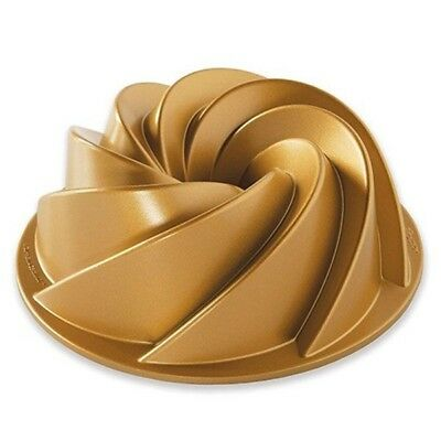 Nordic Ware Backform Heritage Bundt Pan Gold