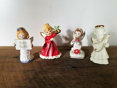 Vintage Christmas Holiday Angel Figurine - Choose from a Napcoware or Lenox